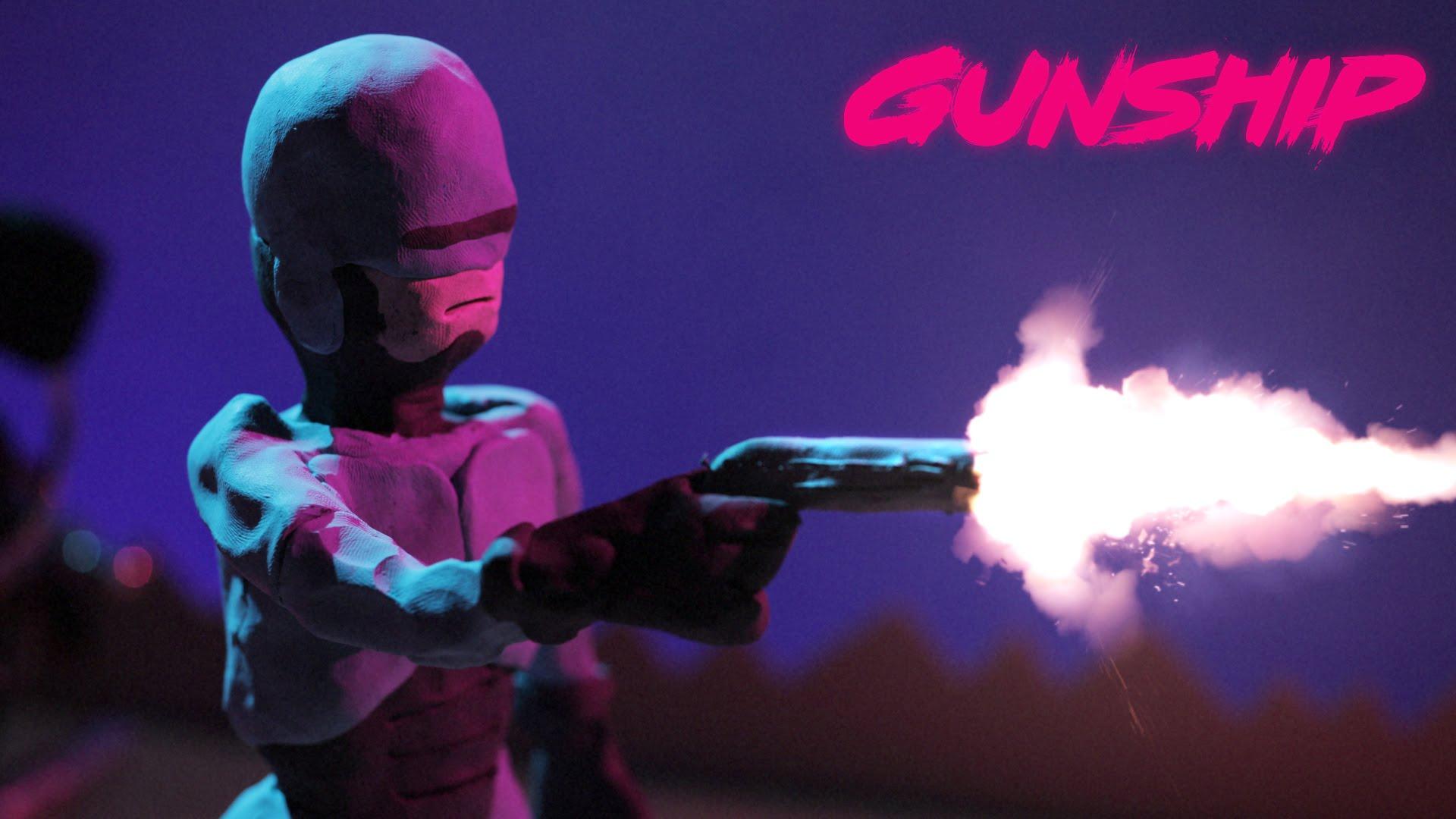 music gunship tech noir