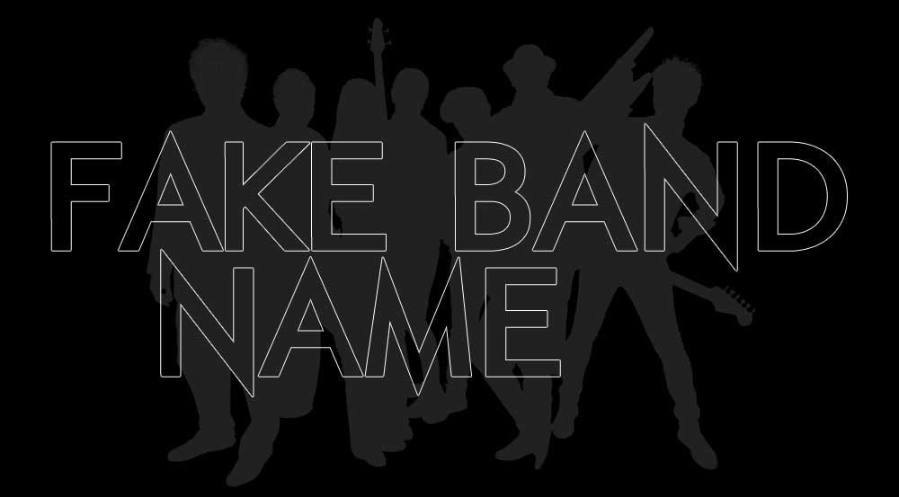 Fake Band Name