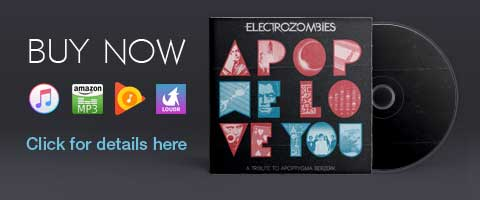 'Apop We Love You - A Tribute To Apoptygma Berzerk' is out now. Buy today on all major digital channels.
