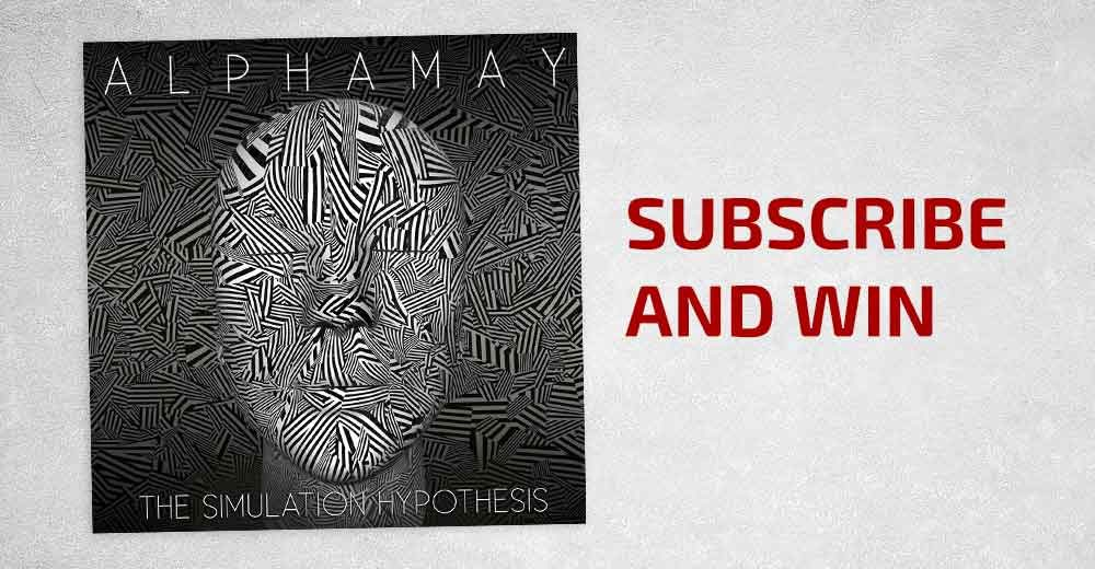 Subscribe and win Alphamay The Simulation Hypothesis header 1000x520