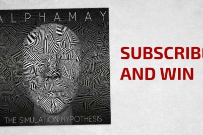 Subscribe and win Alphamay The Simulation Hypothesis header