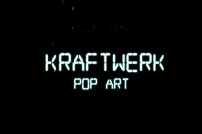 Kraftwerk - Pop Art