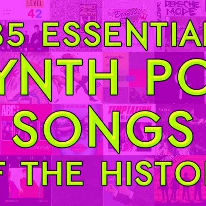 35 essential Synth Pop songs of the history
