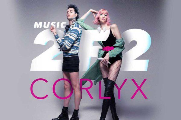 Corlyx present their Dark Pop album 'Music 2 F 2'