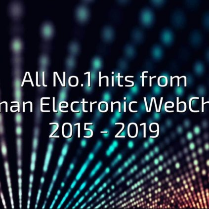 All No.1 hits from German Electronic WebCharts 2015-1019