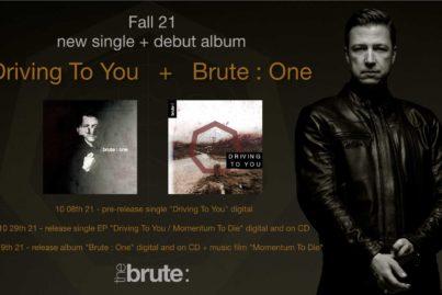 THE BRUTE : new Single + Short Music Film + Debut Album