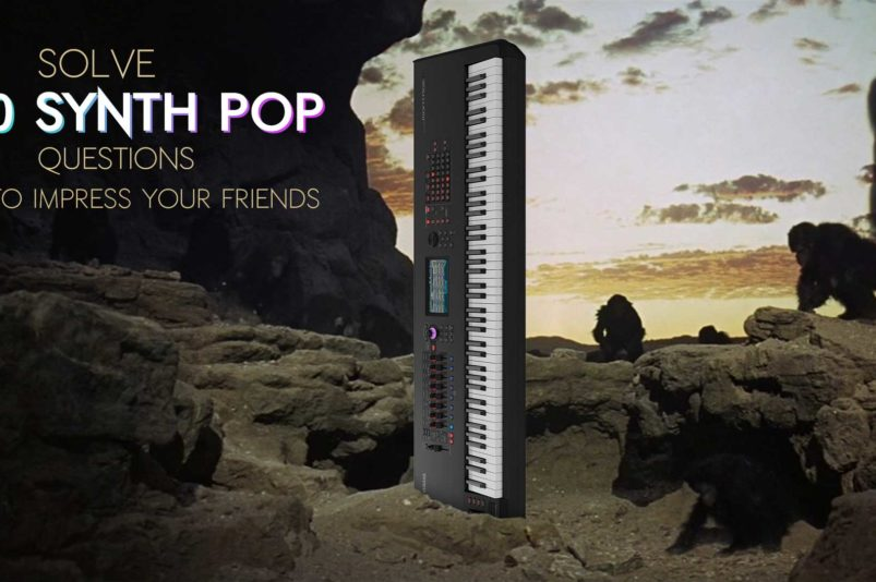 Solve 20 Synth Pop questions to impress your friends