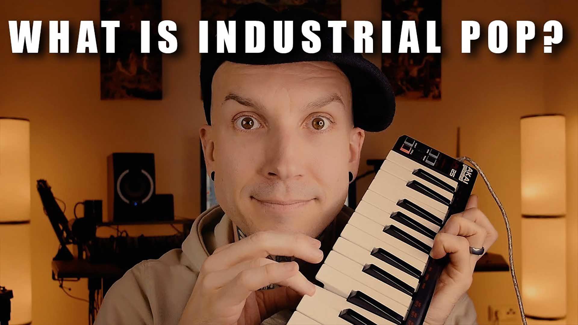 what is industrial pop